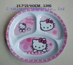 kids section plate