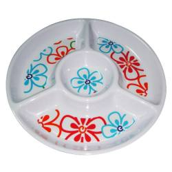 Melamine section plate