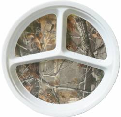 realtree melamine section plate
